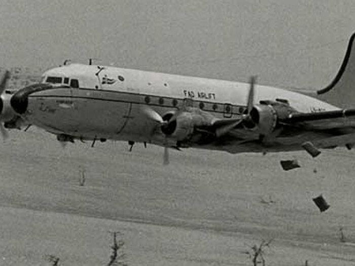 черно-белые самолеты