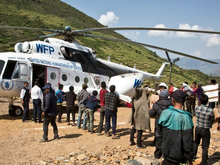 Воздушная гуманитарная служба ООН (UNHAS)
