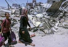 ВПП ООН оказывает немедленную поддержку семьям, пострадавшим от чрезвычайной ситуации в Газе