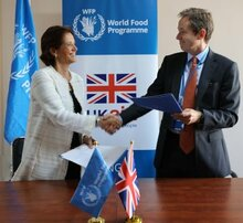 Великобритания становится одним из крупнейших доноров ВПП в Иордании с новыми средствами выделенными для поддержки беженцев