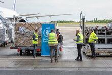 COVID-19: гуманитарные воздушные поставки в Африку увеличены благодаря новому грузовому центру ООН в Бельгии