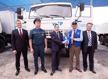 Потенциал реагирования на чрезвычайные ситуации в рамках Всемирной продовольственной программы был усилен за счет пожертвования специальной техники из Российской Федерации