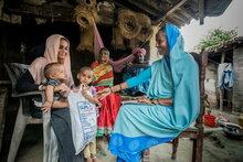 Великобритания выделяет £4,49 миллиона, чтобы помочь непальским семьям справиться с COVID-19 и отсутствием продовольственной безопасности